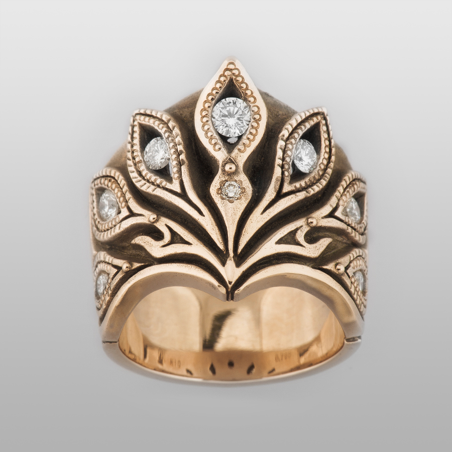 Phoenix Ring (Gold) | Rings by BigBlackMaria | Online Boutique Oz ...