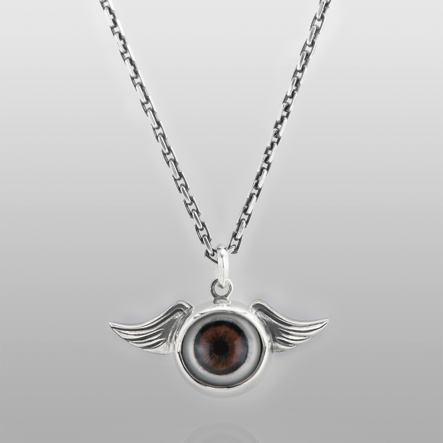 you necklace pin eyeball w eye rhinestones necklaces see swarovski