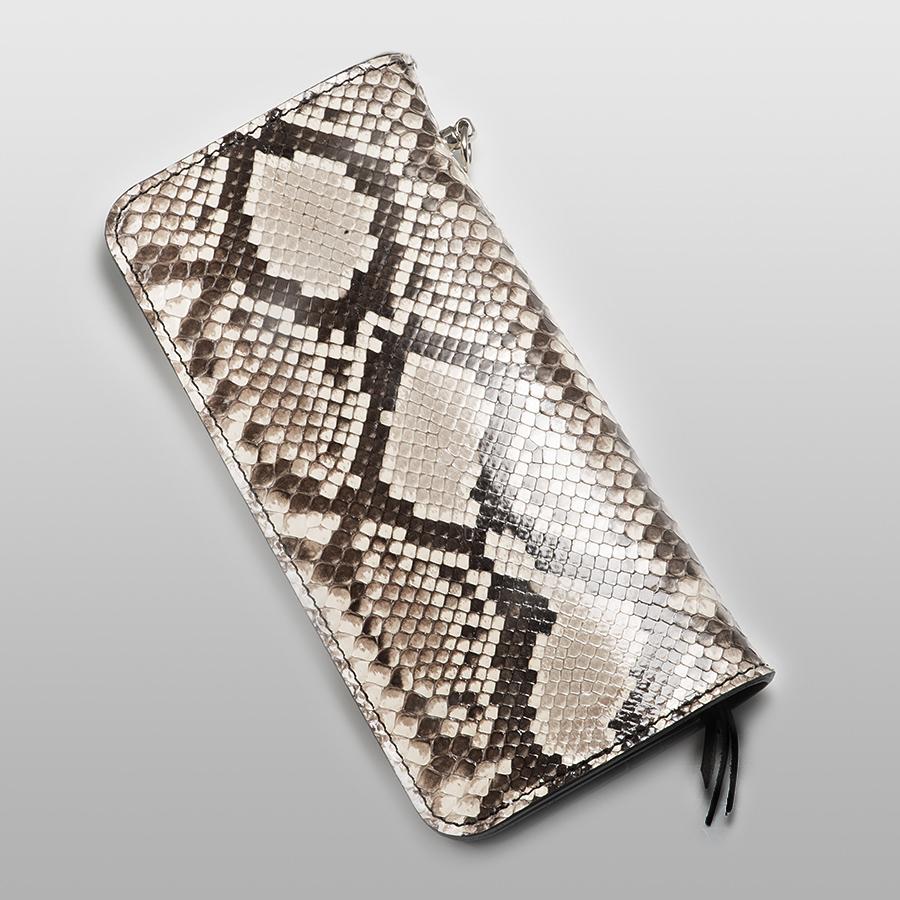 ロングパイソン財布