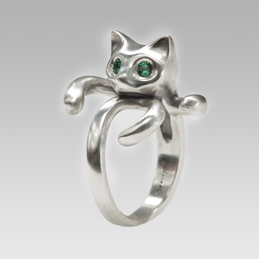 kitty (Green Spinel)