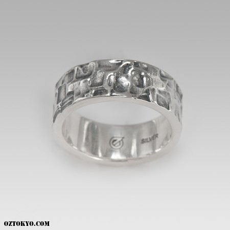 Space Ring Rings by Oz Abstract Tokyo