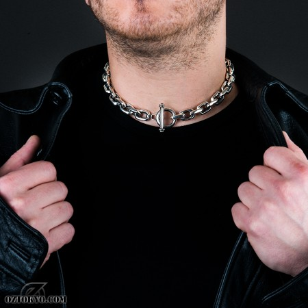 0c185273d43bd Double Shackles (Onyx) | Pendants, Necklaces & Chokers by Oz ...