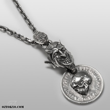 Hell S Coin Pendants Necklaces Amp Chokers By Sts
