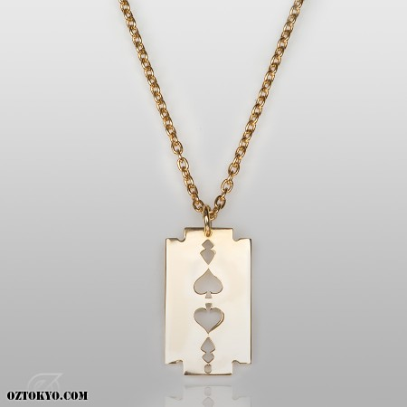649adae3e77c3 AceRazor (Gold) | Pendants, Necklaces & Chokers by Oz Abstract Tokyo |  Online Boutique Oz Abstract Tokyo, Japan